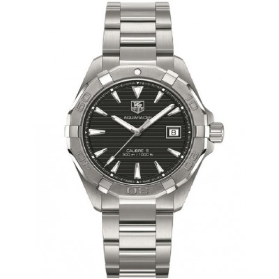 Captain Replica Watch - TAG Heuer Aquaracer Calibre 5 300M Black Dial WAY2110.BA0910