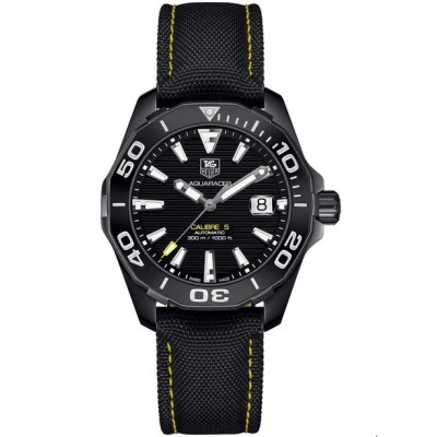Captain Replica Watch - TAG Heuer Aquaracer Calibre 5 300M Black Titanium WAY218A.FC6362