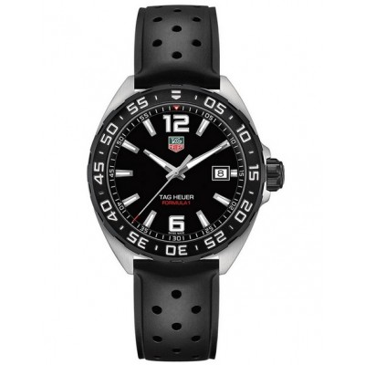 Captain Replica Watch - TAG Heuer Formula 1 41mm Quartz Black Dial WAZ1110.FT8023