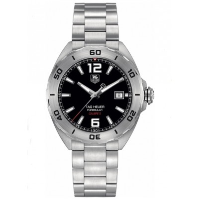 Captain Replica Watch - TAG Heuer Formula 1 Calibre 5 Black Dial Steel WAZ2113.BA0875