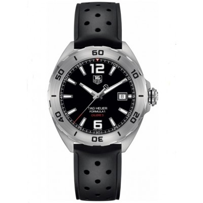 Captain Replica Watch - TAG Heuer Formula 1 Calibre 5 41mm Black Dial WAZ2113.FT8023