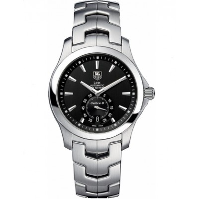 Captain Replica Watch - TAG Heuer Link Calibre 6 Black Dial WJF211A.BA0570