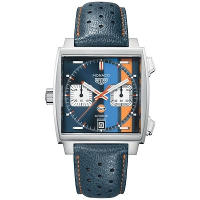 Captain Replica Watch - TAG Heuer Monaco Gulf 2018 Special Edition CAW211R.FC6401