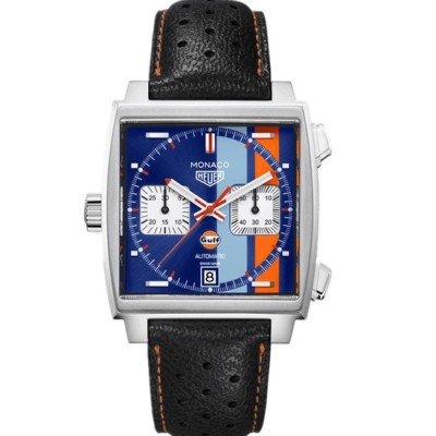 Captain Replica Watch - TAG Heuer Calibre 11 Gulf 50th Anniversary CAW211T.FC6440