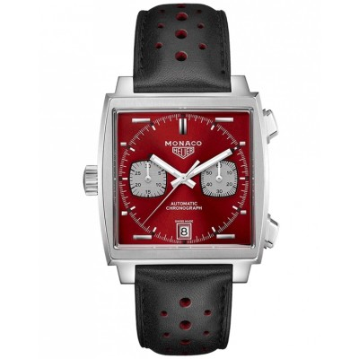Replica TAG Heuer Monaco 1979-1989 Limited Edition 50th anniversary Red CAW211W.FC6467