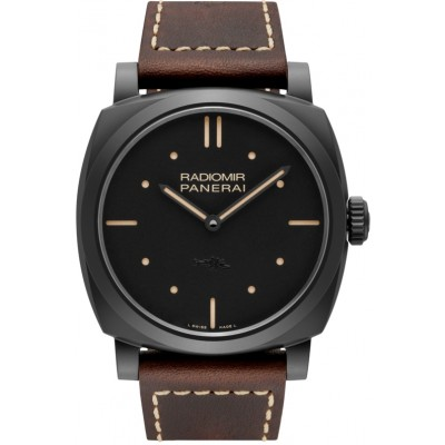 Replica Panerai Radiomir 1940 3 Days Ceramica All Black PAM00577