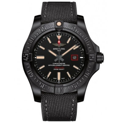 Captain Replica Watch - Replica Breitling Avenger 44 Black Titanium V17311101B1W1