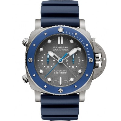 Captain Replica Watch - Panerai Submersible Chrono Guillaume Nery Edition 47mm PAM00982